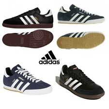 Adidas Mens Trainers Samba Originals Shoes Suede Casual Trainer Sneakers Navy