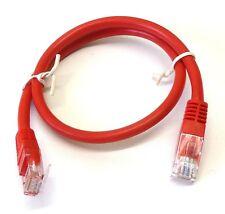 RED Comlynx 3m Cat6 RJ45 Patch Ethernet Network LAN Internet Cable GIGABIT