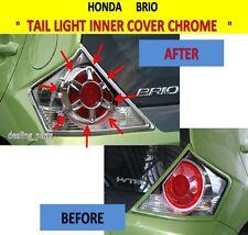 TAIL LIGHT INNER COVER CHROME FOR HONDA BRIO 2011 - 2013