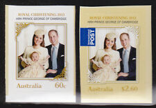 2014 Royal Christening HRH Prince George of Cambridge - Set of 2 Booklet Stamps