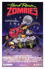 HARD ROCK ZOMBIES - 1985 - original 27x40 rolled Movie Poster - Great Art Work!