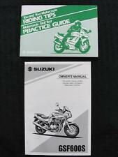 Originales 1995 Suzuki GSF600S 600 Bandit Moto Dueños Operador Manual Limpiar