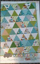 Bungle Jungle quilt pattern project sheet by Tim Beck for Moda Fabrics