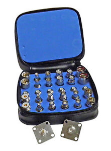 High Quality 30 Piece RF Connector Adapter Kit with QC Adapters for Bird 43