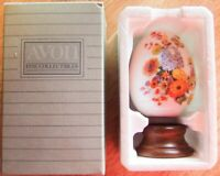 """1987 Avon Gifts of Nature """"AUTUMN'S COLOR"""" Porcelain Egg - Japan - Brand New!"""