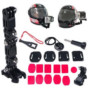 GoPro Motorcycle Helmet Mount Swivel for Hero 3,4,5,6,7,8, Session Action Camera