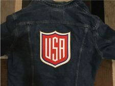 """Usa Summer Olympics Large 10"""" Shield Patch Like Pin Swimming Volleyball Track"""