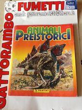 Album Animali Preistorici 165/180 Qs.completo Anno 75 Panini Ottimo