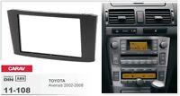 CARAV 11-108 2-Din Kit de instalación de radio Marco TOYOTA Avensis 2002-2008
