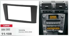 CARAV 11-108 2Din Kit de instalación de radio TOYOTA Avensis 2002-2008
