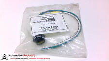 TPC WIRE AND CABLE 84300, MALE RECEPTACLE, 3 PIN, NEW #211096