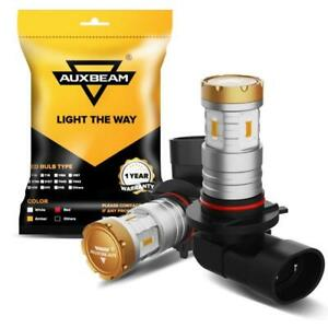 AUXBEAM 9006 LED Fog Lights Bulbs For Dodge RAM 1500 2500 3500 2013-2018 Amber