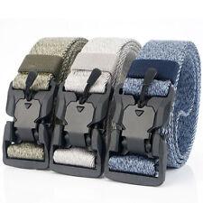 Military Tactical Belt Men's Magnetic Auto Buckle Nylon Belts Waistband