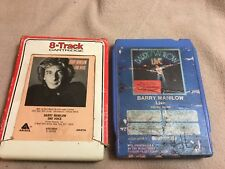 Set of 2 Barry Manilow 8 Tracks