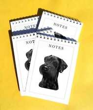 Schnauzer Pack of 4, A6 Small Dog Note Pads Gift Set