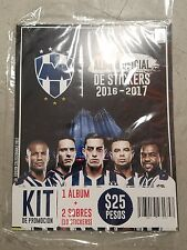 RAYADOS MONTERREY OFFICIAL ALBUM 2016-2017 SPECIAL EDITION WITH 10 STICKERS
