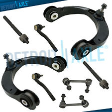 For 2011-2015 Durango Grand Cherokee Front Upper Control Arms Inner Outer Tierod