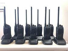 10 Radios Kenwood TK-2302 VHF 136 -174 Mhz Two way - 5 Watt - 16 Channels