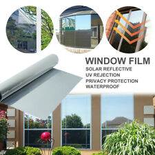 50*100cm Reflective One Way Silver Window UV Rejection Protecting Film Privacy