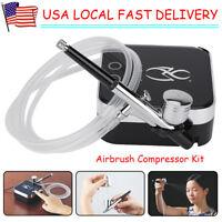 AirBrush Kits With Compressor Air Brush Makeup Set Body Paint Craft Spray Gun