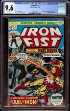Iron Fist # 1 CGC 9.6 White (Marvel, 1975) 1st issue of series