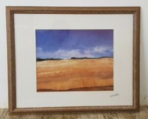 Framed 1996 The Cornfield Ltd Edition 110/450 Print by Stan Rosenthal