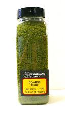 Model Railroad Woodland Scenics Ground Foam Cover Coarse Turf Light Green 1363