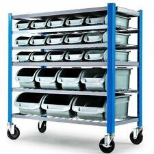 Baumr-AG GRGSTRBMRB22B 22 BIN Storage Shelving Tools