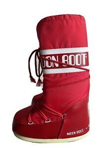 Moon Boot - Boots Stiefel Schneestiefel Rot Neu 39-41 39 40 41