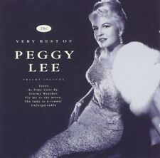 PEGGY LEE - THE VERY BEST OF PEGGY LEE (AUDIO CD) NEW IMPORT