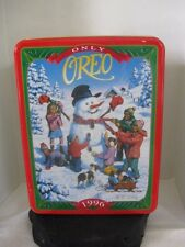 Oreo 1996 Christmas Tin ~ **Gift Idea