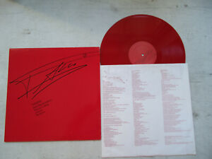 LP FALCO - FALCO 3 VINYL 1985 red Vinyl  ROCK ME AMADEUS,JEANNY... + OIS