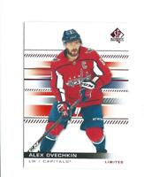 ALEXANDER OVECHKIN sp authentic LIMITED card *bk2