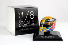 Spark 1/8 Scale Lewis Hamilton Mercedes AMG Petronas 2013 Helmet Abu Dhabi