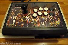 MINT & BONUS!! MadCatz Street Fighter IV 4 Tournament FIGHT STICK ROUND 1 PS3