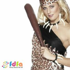 CAVE GIRL WOMAN VOODOO NECKLACE SET ladies womens fancy dress costume accessory