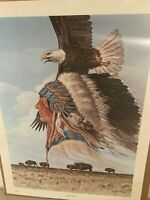 ENOCH KELLY HANEY LIMITED EDITION SIGNED & NUMBERED GUARDIAN OF FREEDOM EAGLE