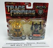 Hasbro Transformers ROTF Bumblebee & Shadow Striker Target EX  Legends Carded