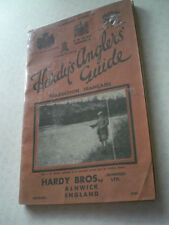 A SUPER RARE FRENCH HARDY 1934 ANGLERS GUIDE ADVERTISING FISHING CATALOGUE