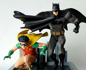 ALL STAR BATMAN & ROBIN ROOFTOP JIM LEE STATUE #199/1300 DC DIRECT