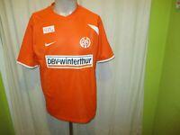 """FSV Mainz 05 Original Nike Ausweich Trikot 2008/09 """"DBV-winterthur"""" Gr.M Neu"""
