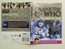 Doctor Who Hand of Fear DVD Sleeve only SIGNED Stephen Thorne (Eldrad) Bob Baker
