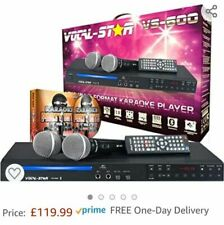 More details for vocal-star vs-600 cdg dvd karaoke machine with 2 microphones & 350 songs