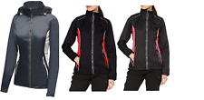Regatta Womens Moscow Waterproof Shell Jacket Hooded Full Zip Coat Cycling