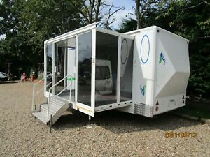 EXHIBITION DISPLAY / SHOW / HOSPITAILTY UNIT / MOBILE OFFICE / CATERING TRAILER