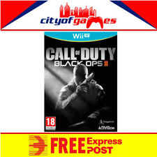 Call Of Duty Black Ops 2 Nintendo Wii U New & Sealed Free Express Post