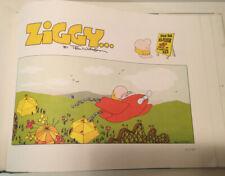 ZIGGY'S SUNDAY FUNNIES HARDCOVER BOOK BEST OF THE SEVENTIES CARTOON TOM WILSON