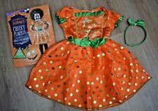 BABY GIRLS BNWT AGE 18-24 MONTHS PUMPKIN HALLOWEEN FANCY DRESS COSTUME