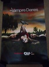 THE VAMPIRE DIARIES TVD Launch Poster PAUL WESLEY CW Ian Somerhalder NINA DOBREV