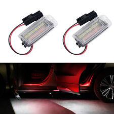 2Pcs LED LIght Step Courtesy Door Lamp For Lexus & Toyota & Subaru BRZ White+Red